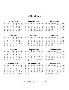 printable  calendar  page large vertical