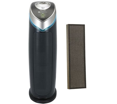 germguardian 3 in 1 hepa air purifier w uv c light carbon filter page 1 qvc