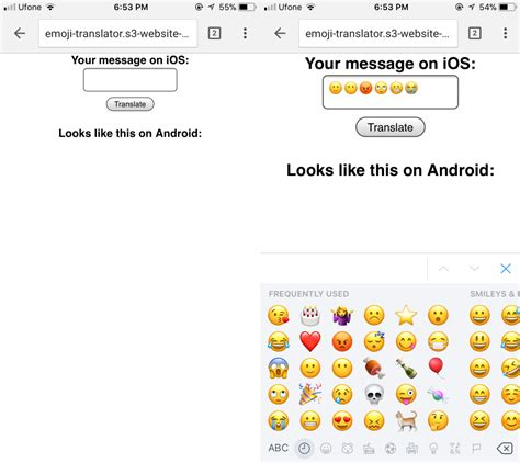 ios emoji for android how to translate ios emoji for android users