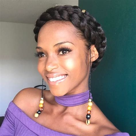crown twist braid on african hair 60 crown braid hairstyles for summer tutorials and ideas