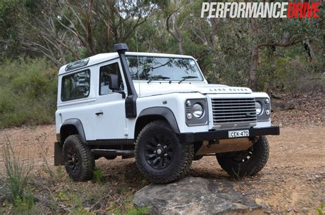 land rover track land rover defender 90 review performancedrive
