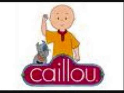 theme song caillou caillou theme song unnecessary censorship youtube