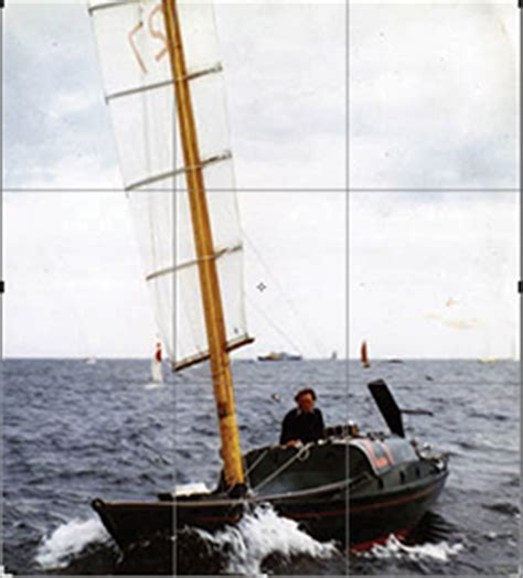trimaran in heavy weather great voyages in small boats blue water sailing