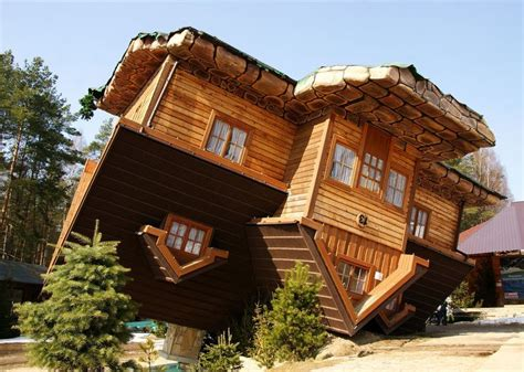 upside down house poland pin by jeanette burrows on cool houses pinterest