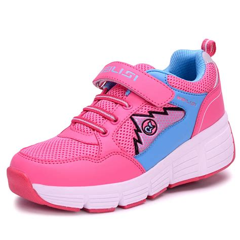 sneakers with wheels for adults 2015 light sneakers with wheels roller skate for children