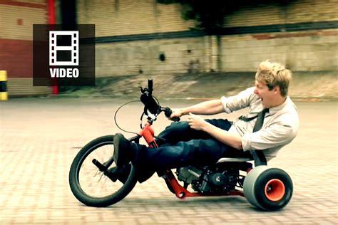 E Motorrad Selber Bauen by Drift Trike Selber Bauen Bauanleitung Colin Furze