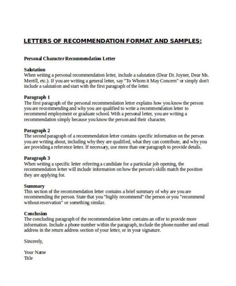 characteristics of application letter 28 application letter characteristics reference