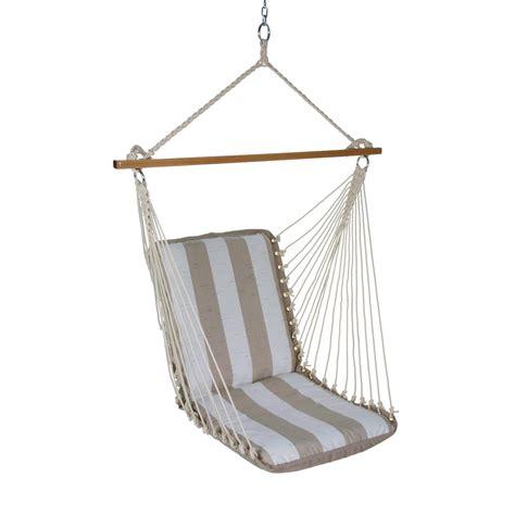 single hammock swing decade sand single cushioned hammock swing