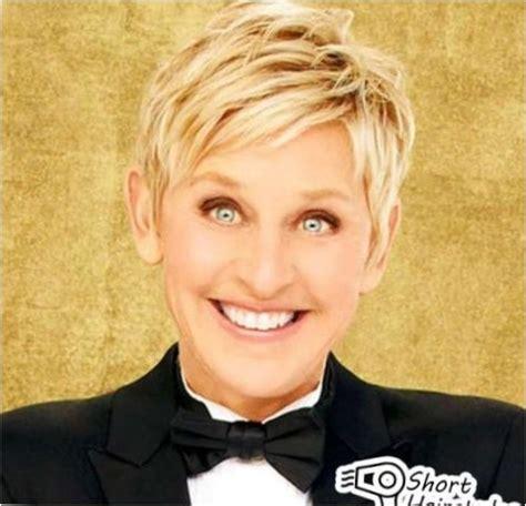 Ellen Degeneres Short Haircut   Best Short Hair Styles