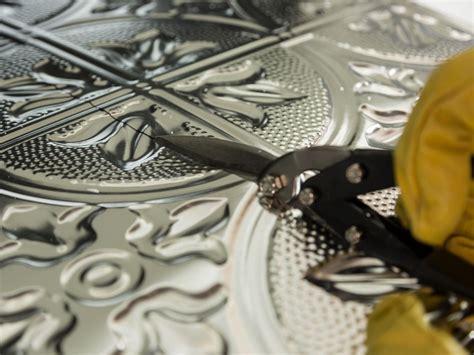 how to install tin backsplash how to install a tin tile backsplash how tos diy