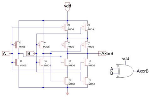 xor gate transistor level 8 transistor xor gate 28 images 2 transistor xor gate 28 images logic gates with npn