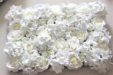 Wedding Background Wall by Free Shipping 10pcs Lot Ivory Artificial Hydrangea