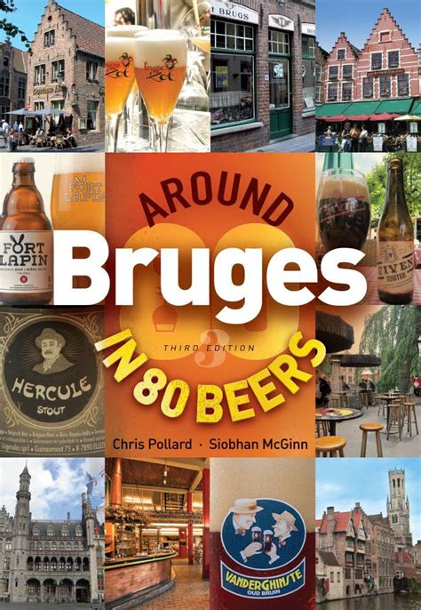 strolling around bruges books around bruges in 80 beers books about