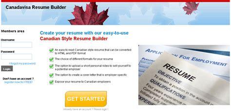 canadavisa resume builder special announcement canadavisa unveils new resume
