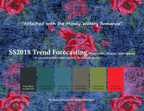 color forecast 2017 spring summer 2018 trend forecasting is a trend color