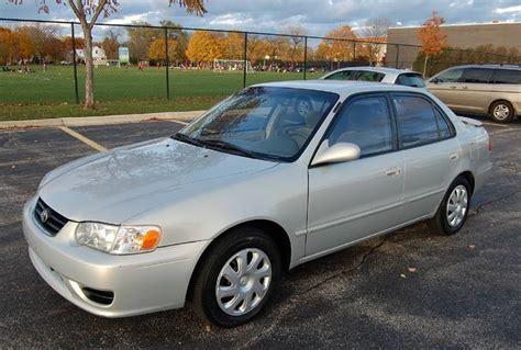2001 Toyota Corolla Le 2001 Toyota Corolla Le 4 Door Sedan