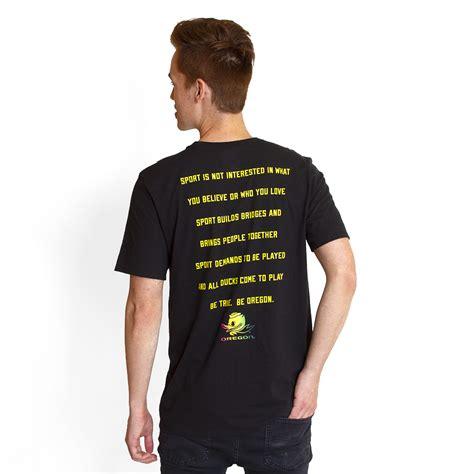 Tshirt Nike Before Pople black nike be true be oregon 18 t shirt