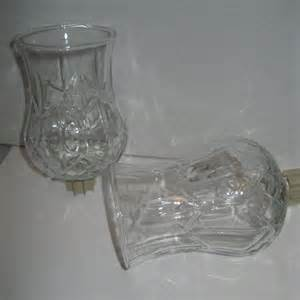 home interiors 2 hurricane glass votive cups candle