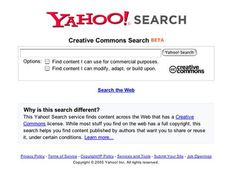 Yahoo Search For Yahoo Search