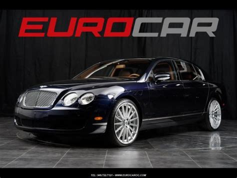 bentley flying spur modified bentley continental flying spur 22 quot custom wheels immaculate