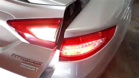 ford fusion tail lights 2014 ford fusion titanium sedan testing tail lights
