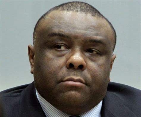 Be Mba by Dr Congo Former Vice President Jean Bemba Facing