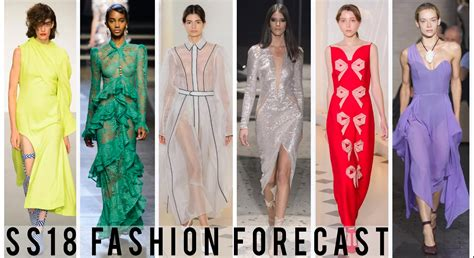 ss18 fashion forecast ss18 fashion trends