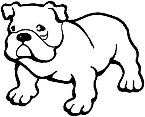 free printable bulldog coloring pages free best free
