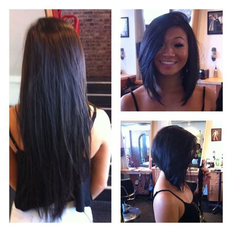 long bob haircuts before and after before and after bob haircuts bing images short to