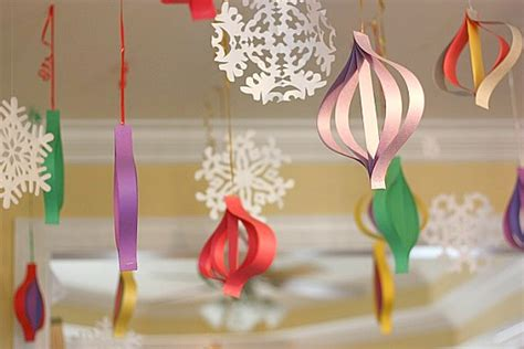 Paper Craft Ideas For Decoration - high impact low budget paper craft decorations