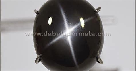 C K Bacan Ashanty Oval Black batu unik nilam india 4 bak 038