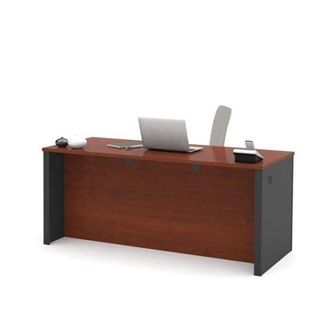 Bestar Prestige Executive Desk With Dual Half Peds In Prestige Office Furniture