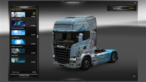 truck simulator 2 cold paint pack free