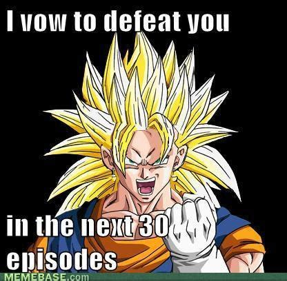 Dbz Meme - if you touch any of my food i ll hurt you just saiyan