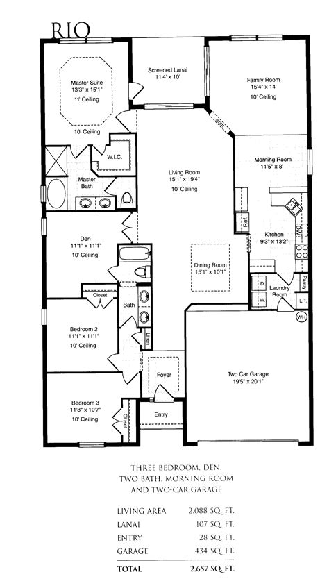 Single Home Floor Plans Single Family House Plans Smalltowndjs