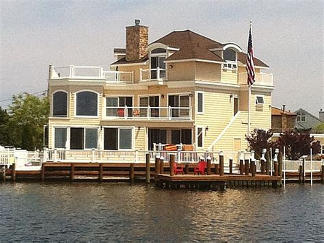 boat rentals lavallette nj lavallette ortley beach 6 bedroom 5 bath bay front house w