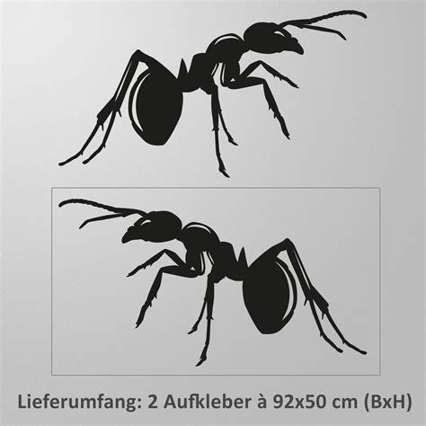 Autoaufkleber Seite by Autoaufkleber Seite Ameisen 2er Set Seitenaufkleber Insekt