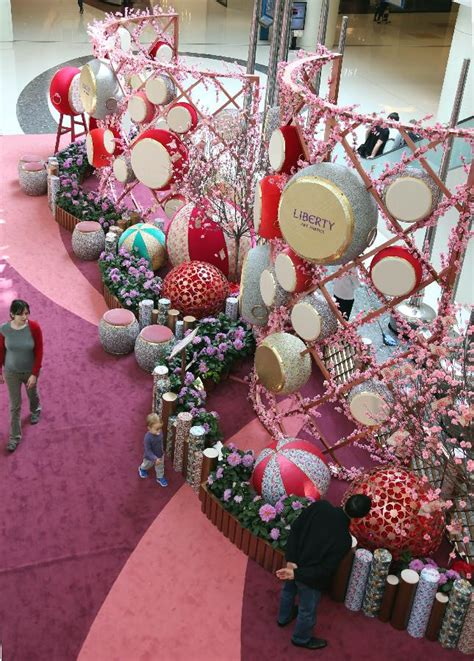 new year floral decorations various decorations appears in celebration of
