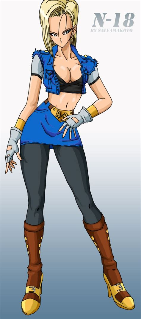 z android 18 android 18 z photo 39582395 fanpop