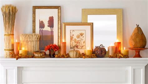 cozy fall fireplace mantel decorating ideas 2 stylish