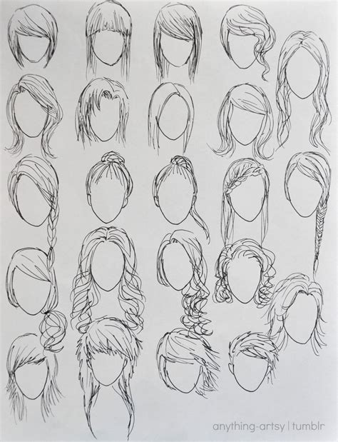 hairstyles drawing girl hairstyles for girls by anhpho on deviantart