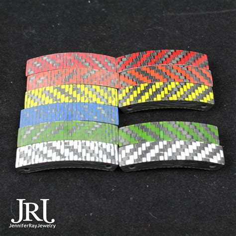 carbon color hybrid color carbon fiber bracelet jewelry