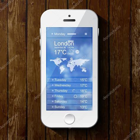 meteo con web modello meteo per informatica web e app con cellulare