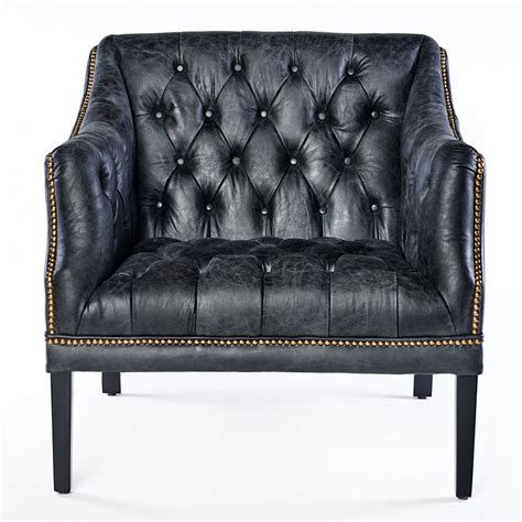 black leather armchair ebay vintage chesterfield leather armchair black leather
