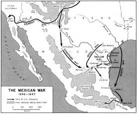 and mexican war map mexican war maps