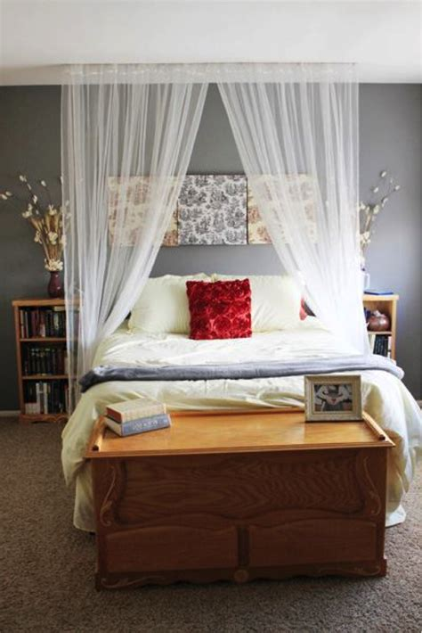 canopy bed curtain ideas canopy curtain over bed the house that built me