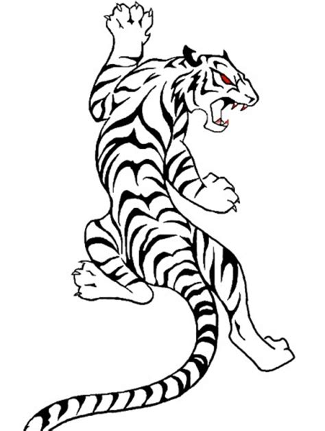 tribal tiger clipart best