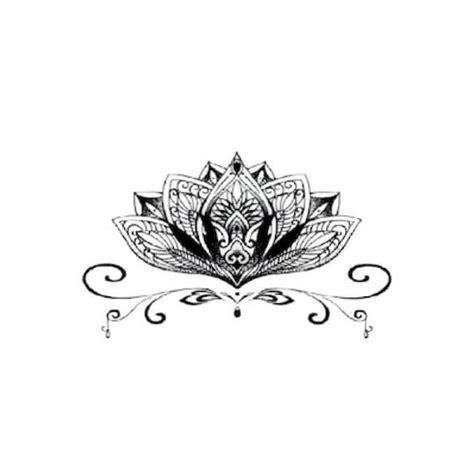 tatouage temporaire fleur de lotus 10 cm 224 0 99