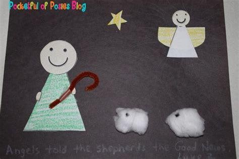 sunday school crafts shepherds  angels craft sunday