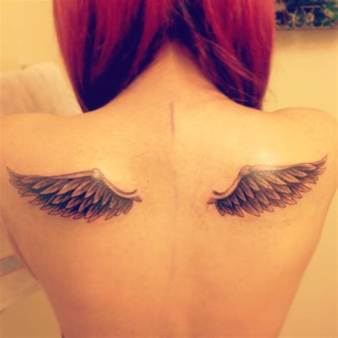 wing back tattoos wings images designs